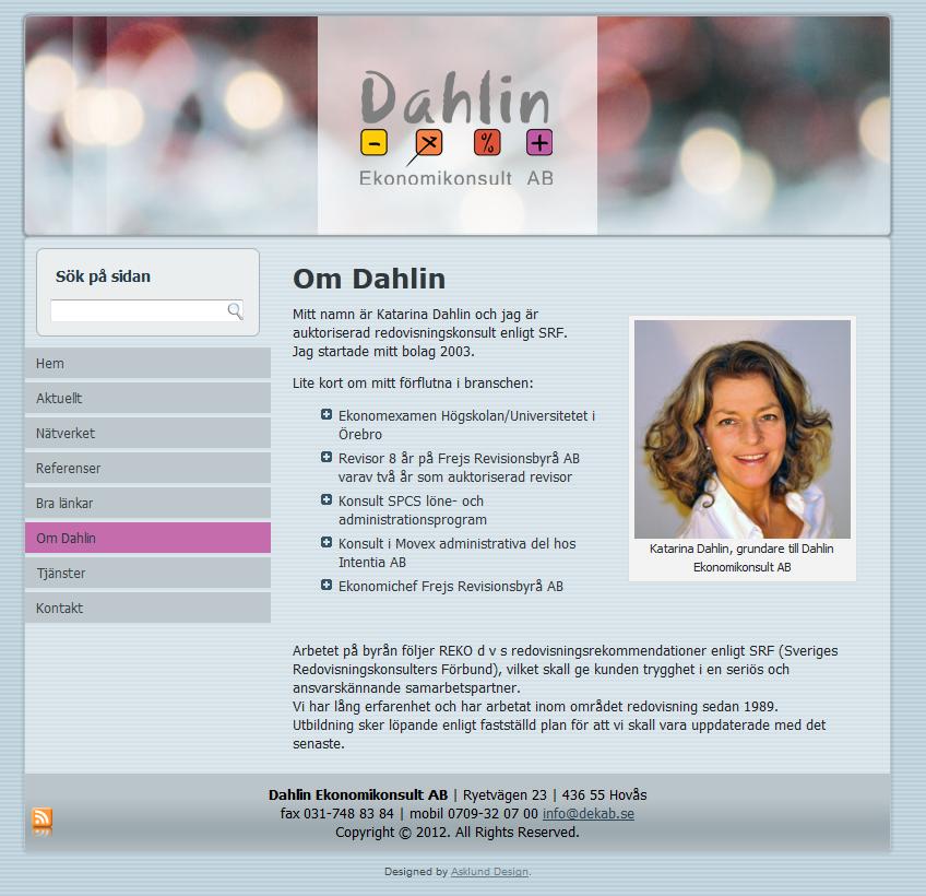 www.dekab.se - 2012