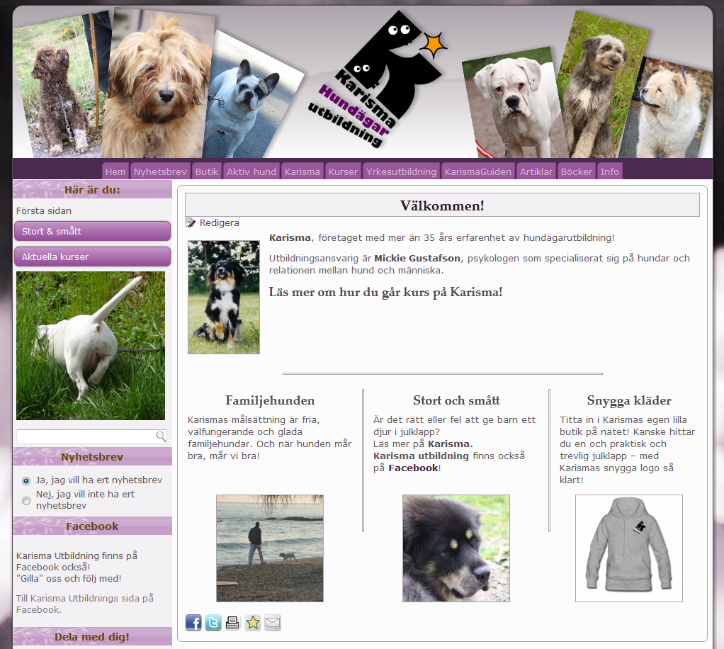 www.karisma-utbildning.se/hund