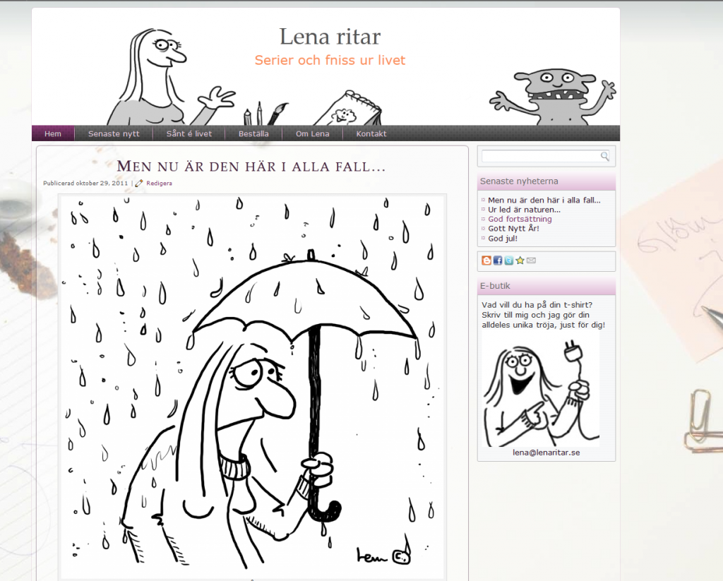 www.lenaritar.se