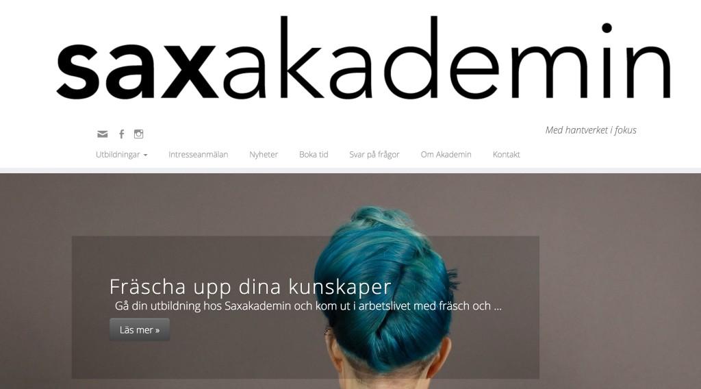 www.saxakademin.se